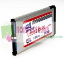 ExpressCard USB 34mm 2-port USB-3.0 Card