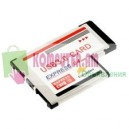 ExpressCard USB 54mm 2-port USB-3.0 Card