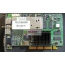 AGP VGA TV Tuner 64MB GeForce4 MX440 Card